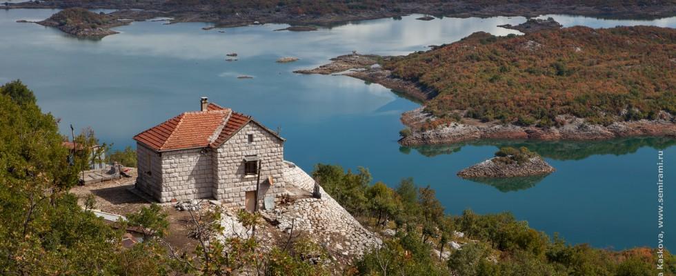Черногория. Которский залив и соленые озера. Сентябрь 2012 г.